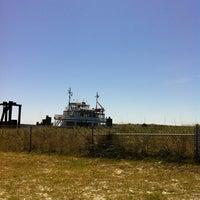 Photo taken at Hatteras-Ocracoke Ferry: Ocracoke Terminal by Emily on 6/7/2012
