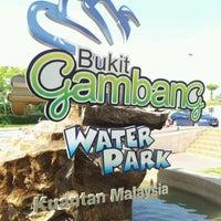 Photo taken at Bukit Gambang Water Park by Cikgu D. on 5/26/2012