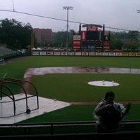 Photo taken at FSU Baseball Dugout by Abbie H. on 9/8/2012