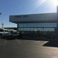 Photo taken at Three-Way Chevrolet Cadillac by Mia Deanna T. on 6/22/2012