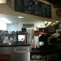 Photo taken at Jimmy John's by Dustin on 7/6/2012