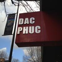 Photo taken at Dac Phuc by John H. on 4/1/2012