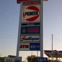 Photo taken at Pioneer Gas Station by Guido D. on 5/25/2012