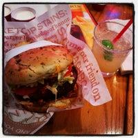 Photo taken at Red Robin Gourmet Burgers by Marco B. on 6/8/2012