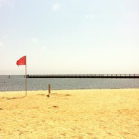 Photo taken at Beach Hut @ Tanner Park by Kaitlyn J. on 8/4/2012