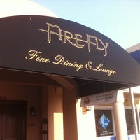 Photo taken at Firefly Restaurant & Lounge by 30AEATS.com on 6/30/2012