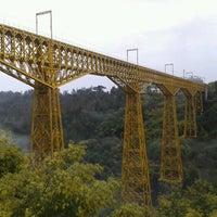 Photo taken at Monumento Nacional Puente Malleco by Rodrigo™ on 8/3/2012