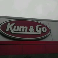 Photo taken at Kum & Go by Mike H. on 7/20/2012