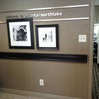 Photo taken at Hampton Inn Atlanta-Northlake by Twyla W. on 6/7/2012