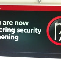 Photo taken at Security/Passport Control - T1 by Marco E. on 7/9/2012