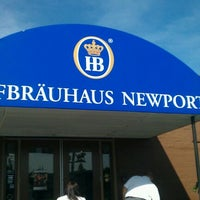 Photo taken at Hofbräuhaus Newport by George W B. on 5/11/2012