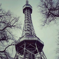 Photo taken at Petřín Lookout Tower by shota r. on 4/10/2012