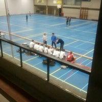 Photo taken at Sportcentrum Arkendonk by Rob v. on 2/26/2012