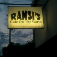 Photo taken at Ramsi's Cafe On the World by Ramón I. on 3/30/2012
