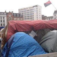 Photo taken at Occupy Notts by Toby B. on 3/10/2012