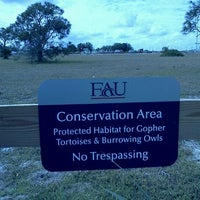 Photo taken at Conservation Area at FAU by Linden d. on 2/13/2012