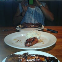 Photo taken at Wood Ranch BBQ & Grill by Sol C. on 2/5/2012