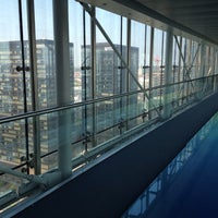 Photo taken at Proximus Towers by Quentin on 9/4/2012