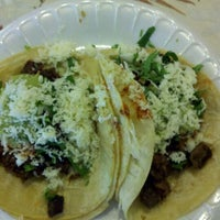 Photo taken at Tacos de Acapulco by Michael G. on 2/27/2012