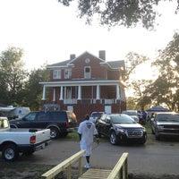 Photo taken at Mound Bayou by Randy H. on 9/1/2012