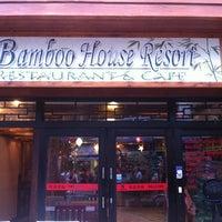 Photo taken at Bamboo House Inn by Steve N. on 8/14/2012