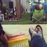 Photo taken at Celadon Outdoor Amphitheater by Alyssa W. on 7/20/2012
