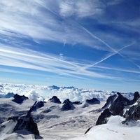 Photo taken at L'Aiguille du Midi (3842m) by Savvas S. on 8/14/2012