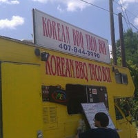 Photo taken at Korean Bbq Taco Box 2 by Bob on 5/5/2012