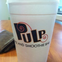 Photo taken at Pulp Juice and Smoothie Bar by Kevin B. on 8/28/2012