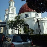 Photo taken at Gereja Blendoeg (GPIB Immanuel Semarang) by Puspa C. on 6/26/2012