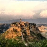 Photo taken at Civita di Bagnoregio by Gianlu C. on 8/13/2012
