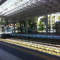 Photo taken at Irakleio ISAP Station by John G. on 6/16/2012