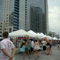 Photo taken at Smorgasburg Williamsburg by Linnea C. on 7/7/2012