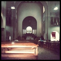 Photo taken at Iglesia Nuestra Señora De La Chiquinquira by Elsa H. on 8/28/2012