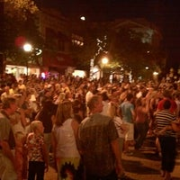 Photo taken at Downtown Greeley by Alison H. on 7/28/2012