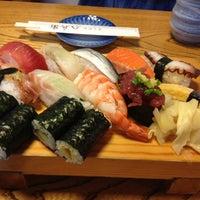 Photo taken at すしやの八兵衛 by Kiyoshi Y. on 6/21/2012