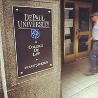 Photo taken at DePaul University College of Law by Ethel M. on 5/9/2012
