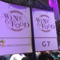 Photo taken at NOWFE Grand Tasting Friday by Wine Sisterhood on 5/25/2012
