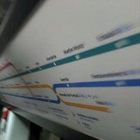 Photo taken at Metro São Sebastião [AZ,VM] by Yannick d. on 4/29/2012