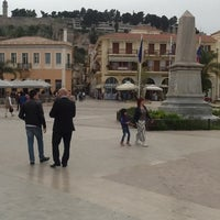 Photo taken at Port of Nafplio by Vitalii L. on 4/17/2012