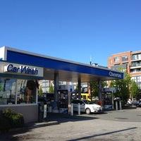 Photo taken at Chevron by Sean S. on 5/25/2012