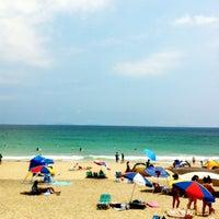 Photo taken at 吉佐美大浜海岸 by nks y. on 7/28/2012