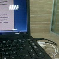 Photo taken at Library uthm (bilik perbincangan 24 jam) by Yue H. on 5/2/2012