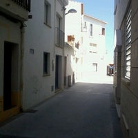 Photo taken at Tamariu by carlos r. on 6/20/2012