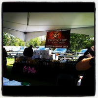 Photo taken at Garden State Wine Festival by Jessica H. on 9/1/2012