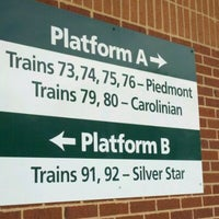 Photo taken at Amtrak - Cary Station (CYN) by Richard B. on 5/4/2012