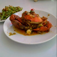 Photo taken at D'Cost Seafood by vita a. on 8/10/2012