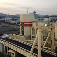 Photo taken at 阪九フェリー 第2ターミナル by ぽんぽこ ぽ. on 2/24/2012