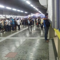 Photo taken at Yellow Line - Araneta Center-Cubao Station by Francis Ian L. on 5/17/2012