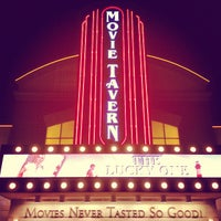 Photo taken at Movie Tavern by Rebecca G. on 4/21/2012